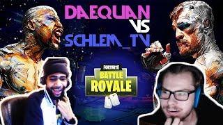 Daequan Vs SchleM_TV  1v1  Fortnite