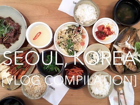 Seoul, Korea Vlog Compilation | Eat, Shop, Sleep & Repeat