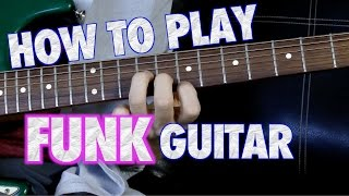 �������� ���� How to Play Funk Guitar ������