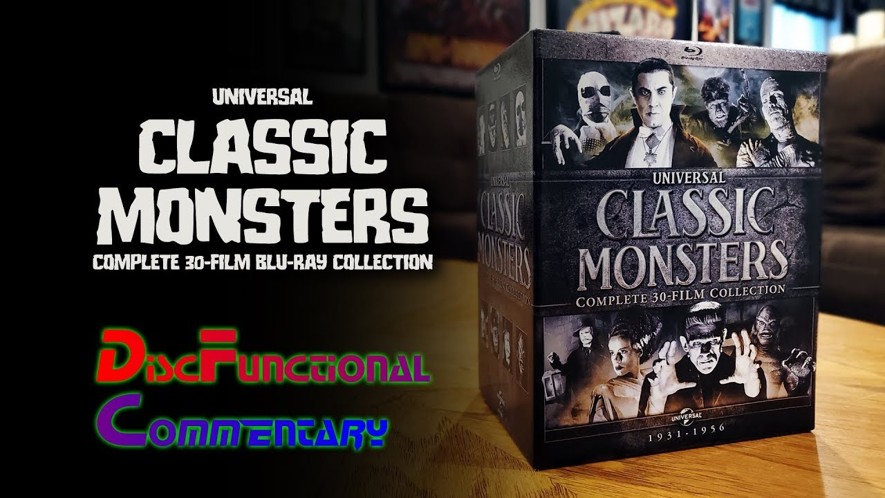 Download Universal Classic Monsters: Complete 30-Film Blu-ray Collection