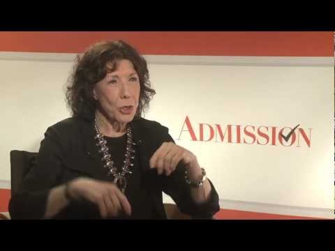 Lily Tomlin talks 'Admission,' and the state of comedy with Andrew Freund