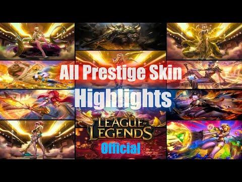 All Prestige Edition Skins Spotlight Irelia Akali Kai'Sa Ahri Evelynn Lux Caitlyn Vayne Fizz Riven