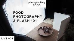 How To Use A Flash with Food Photography