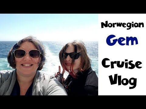 Cruise Day 6 ~ Sailaway from Port & Dinner • NYC Land & Sea Cruise Vlog [ep30]