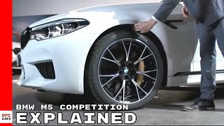 2019 BMW M5 Competition Explained
