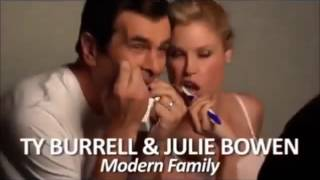 Behind the scenes,bloopers and Moments in TV (Modern Family)