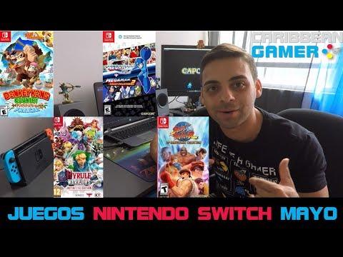 Los Mejores Juegos de Nintendo Switch para Mayo | Caribbean Gamer