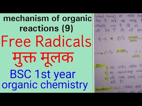 Free Radicals Organic Chemistry,free Radicals In Hindi,free Radicals,BSC 1 St Year Organic Chemistry