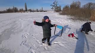 зимняя рыбалка, Лорд катает Макарчика