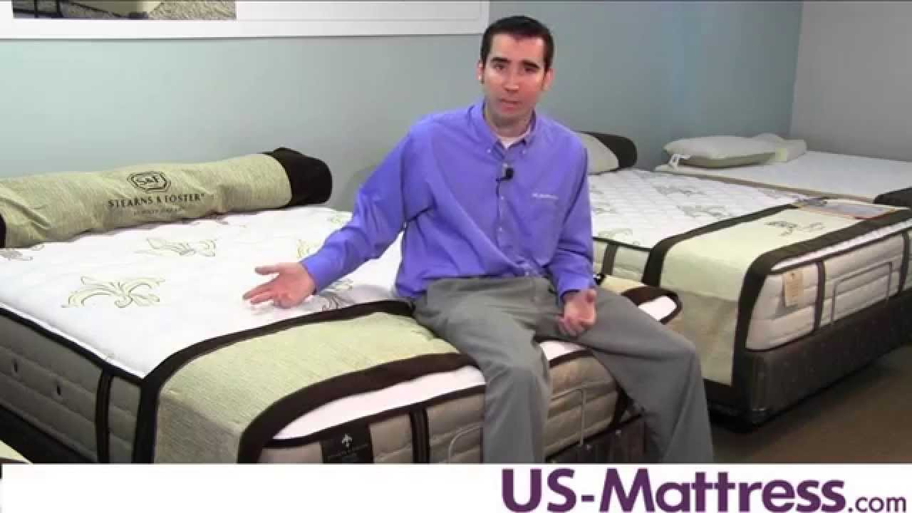 stearns u0026 foster signature u0026 estate mattress collection overview youtube - Stearns And Foster Reviews