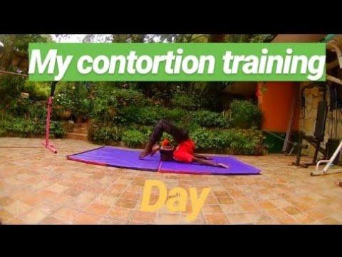 contortion flexibility training my beginners stretch