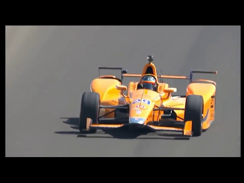 Indianapolis 500 Practice Fernando Alonso Monday 15