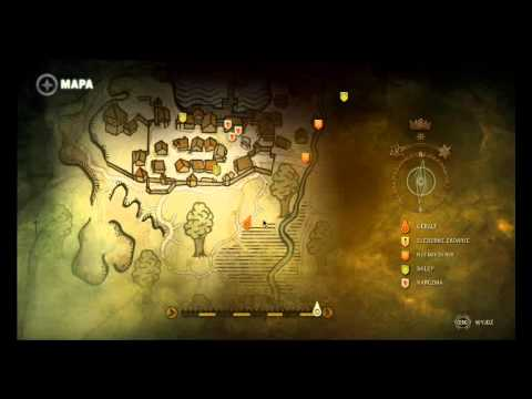 Mapa The Witcher 2.The Witcher 2 Nekker Tunnles Location
