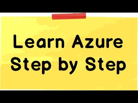 Azure Tutorial for Beginners
