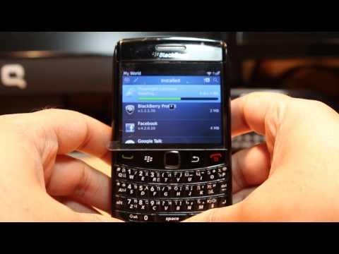 Flash light install to Blackberry Bold 9780