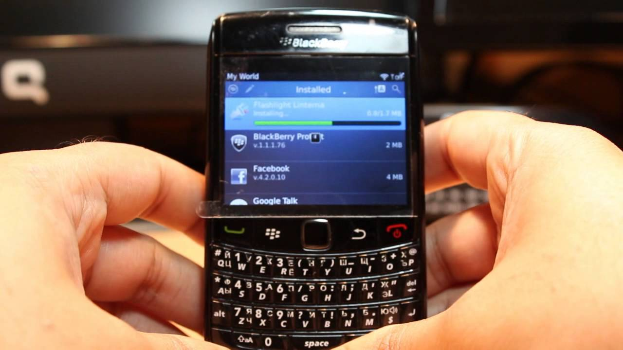 Blackberry 9700 Autoloader