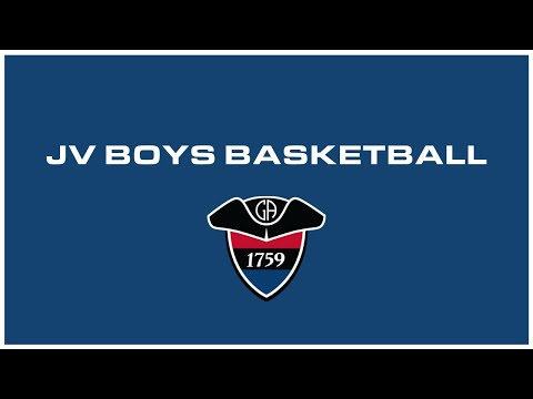 JV Boys Basketball: Germantown Academy vs William Penn Charter School