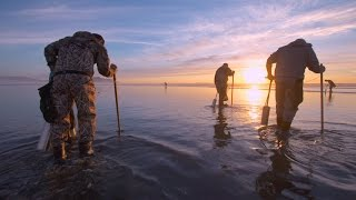 Grant's Getaways:  Evening Razor Clamming