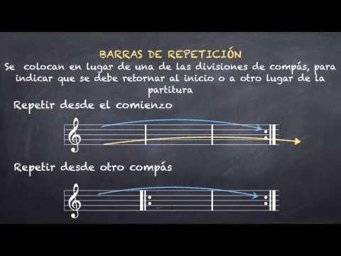 Signos de Repeticion: Barras y Casillas (Ln 10.2)