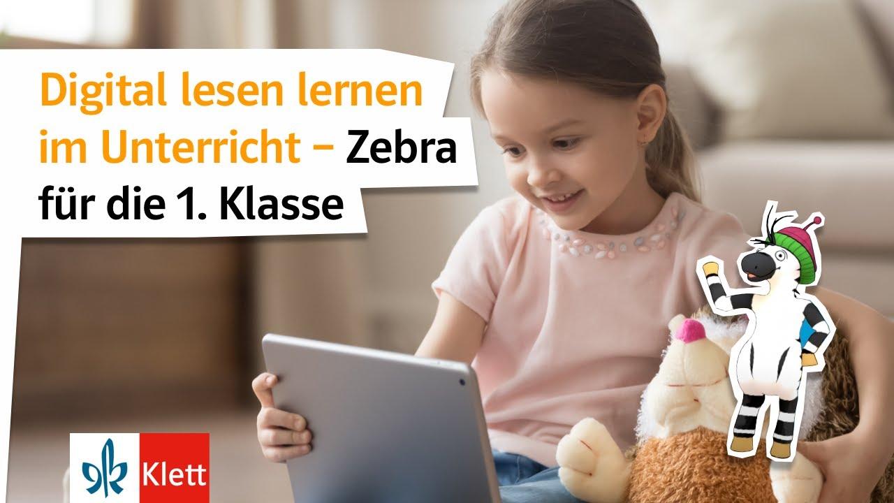 Lesen lernen 1 mit Zebra - YouTube