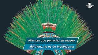 """Christian Schicklgruber, director del museo que alberga la reliquia, afirma que según los códices históricos """"Moctezuma nunca llevó un penacho como ese"""""""