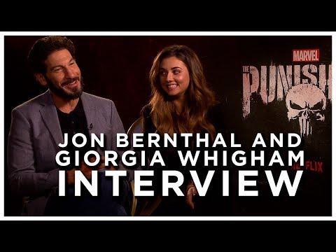 THE PUNISHER SEASON 2 Interview: Jon Bernthal And Giorgia Whigham