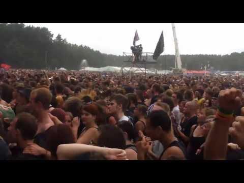 Atari Teenage Riot Live at Woodstock Festival - 2013 - Poland