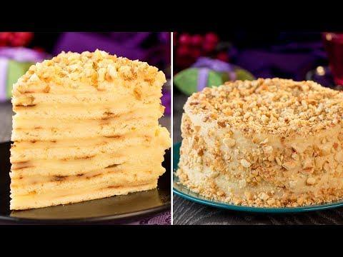 Торт Наполеон на сковороде - рецепта проще этого невозможно найти! | Appetitno.TV