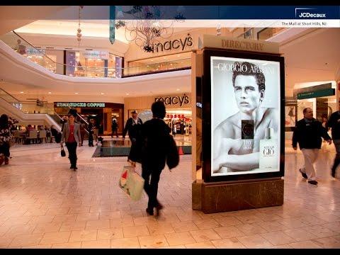JCDecaux North America: MallScape shoppers experience Armani's latest scent