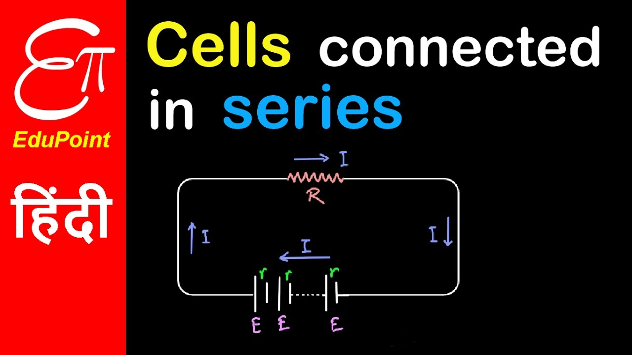 Cells In Series Combination Hindi Edupoint Youtube Electricity Parallel Circuitswmv