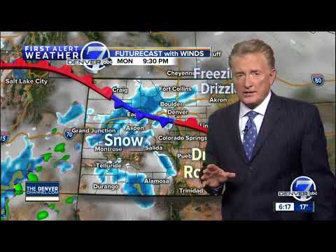 Cold in Denver now, but near 60 degrees on Wednesday