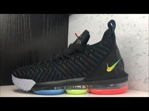 pretty nice 48603 7d531 NIKE LEBRON JAMES 16 I PROMISE SNEAKER REVIEW