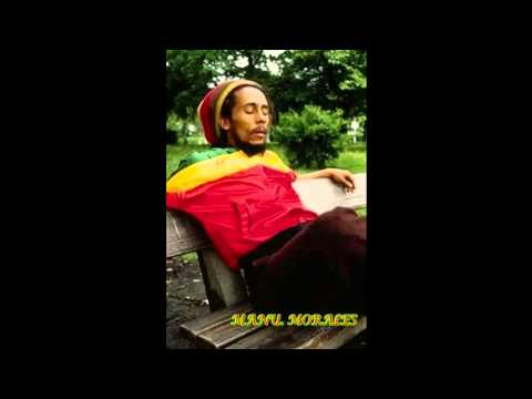 ♕ Bob Marley ♕ 1980, Interview Phone & Singing ♩♪♫♬ Sitting In The Park