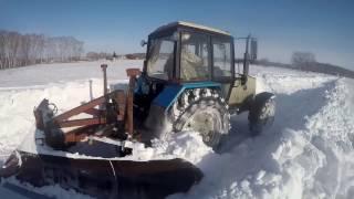 видео чистка снега