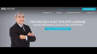 Live avec Philippe LHERMIE : Actualités & Analyse des Marchés, JFD Brokers, Systèmes de Trading