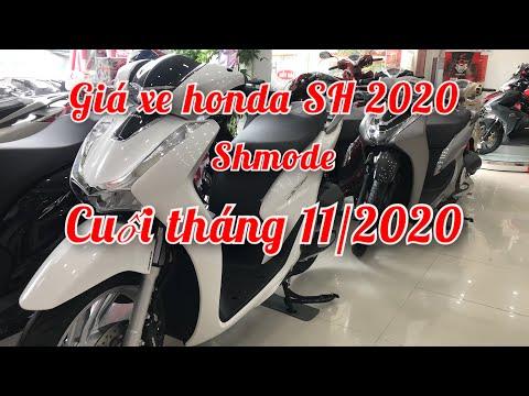 Bảng giá xe Honda Sh2020 - Shmode 2021 ngày 28/11/2020