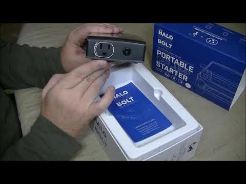 UNBOXING HALO BOLT ACDC 58830 mWH JUMP START CAR & Power Electronic DEVICES