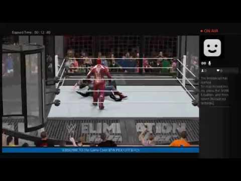 WWE 2K16 SUPER HERO ELIMINATION CHAMBER