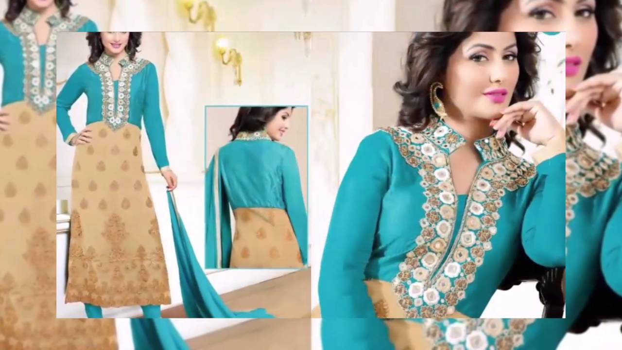 New dress collection for diwali for women - Diwali Special Georgette Embroidery Salwar Suits Latest Fashion Collection New Fashion Collection