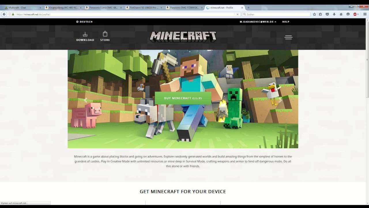 So Lädt Man Einen Minecraft Skin Runter Tutorial YouTube - Wie ladt man sich skins fur minecraft runter