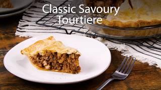 Classic Savoury Tourtiere recipe