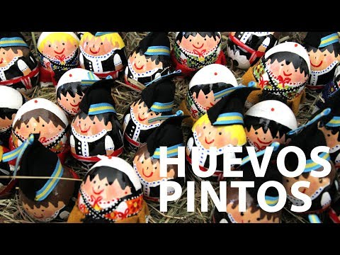 video about Easter in Asturias