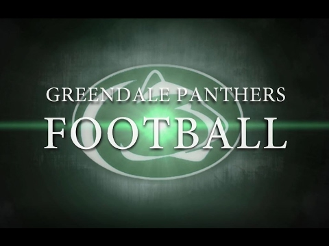 2016 Greendale Panther Football
