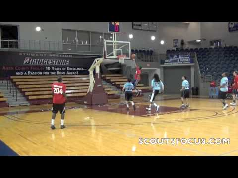 5Red #236 Aaron Smothers, Shiloh Hills Christian School GA, 6'4 189, 2012
