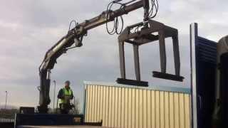 mercedes atego 1823 block lorry c w atlas ak3500ca 2 type crane block grab