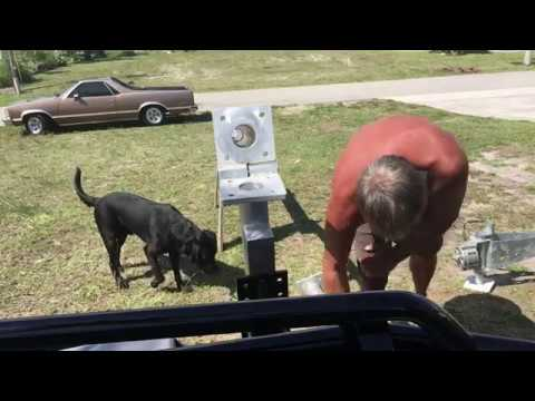 RV Trailer Build #97 - Wind Turbine Tower Setup and Solar Controller Setup