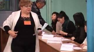 начало голосования на 10 участке в Шымкенте