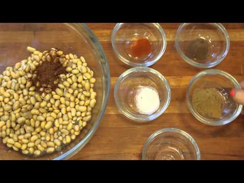 How to Dry-Roast Soy Beans : Healthy Bean Recipes