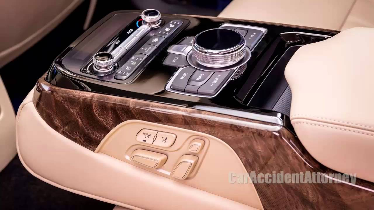2017 hyundai genesis g90 pemium luxury interior features. Black Bedroom Furniture Sets. Home Design Ideas