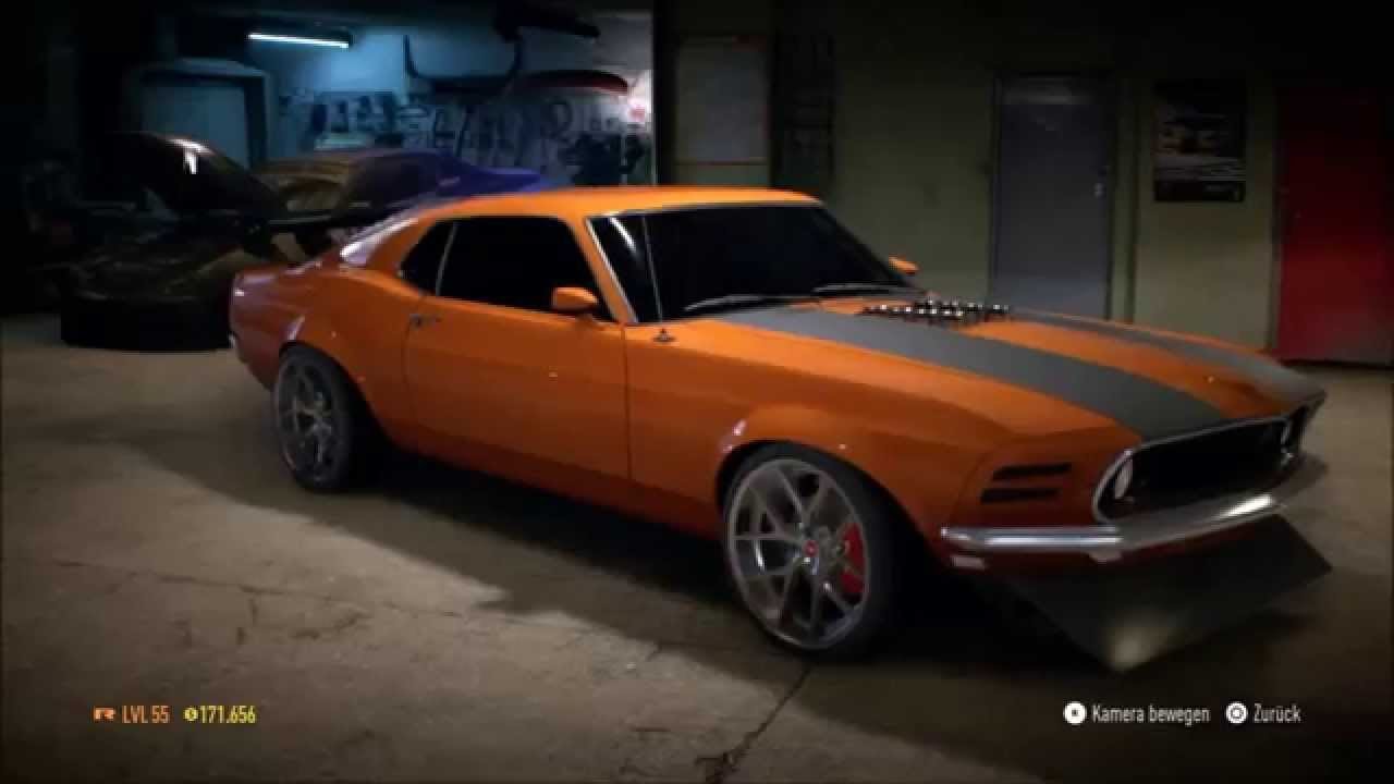 Nfs 2015 my garage ford mustang boss 302 full tuning for Garage ford villefranche